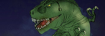 "Drawing Dinosaurs, Yes … 10 Years before ""Jurassic Park"""